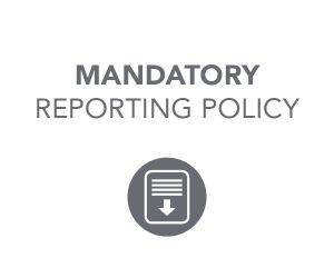 Mandatory Reporting Policy