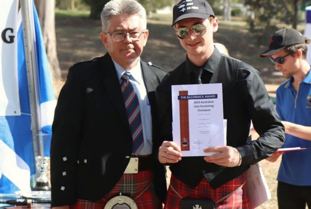 Australian Solo Piping & Drumming Championships